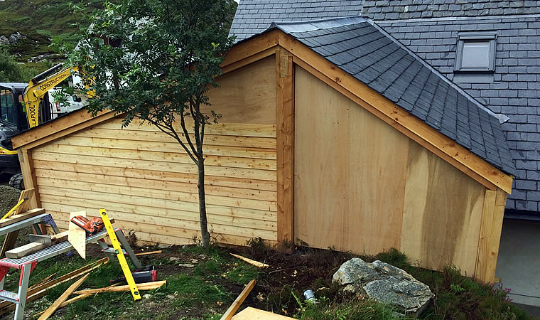 RJ Macrae Joinery, extension Ullapool